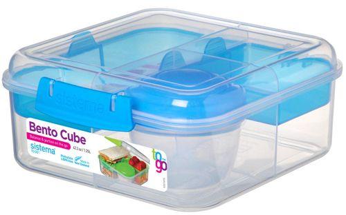 SISTEMA Pojemnik na zywnosc 1,25L Bento Box To Go